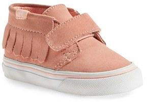 Toddler Girl's Vans 'Chukka V Moc' Slip-On $39.95 thestylecure.com