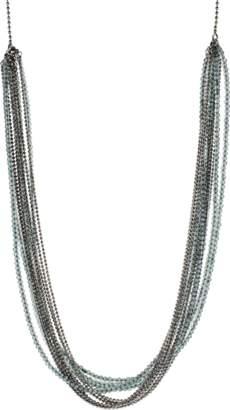Brunello Cucinelli Monili Multi Color And Strand Wrap Necklace