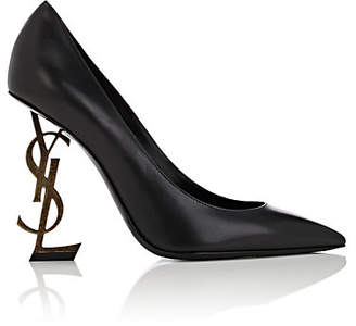 Saint Laurent Women's Opyum Leather Pumps - Black