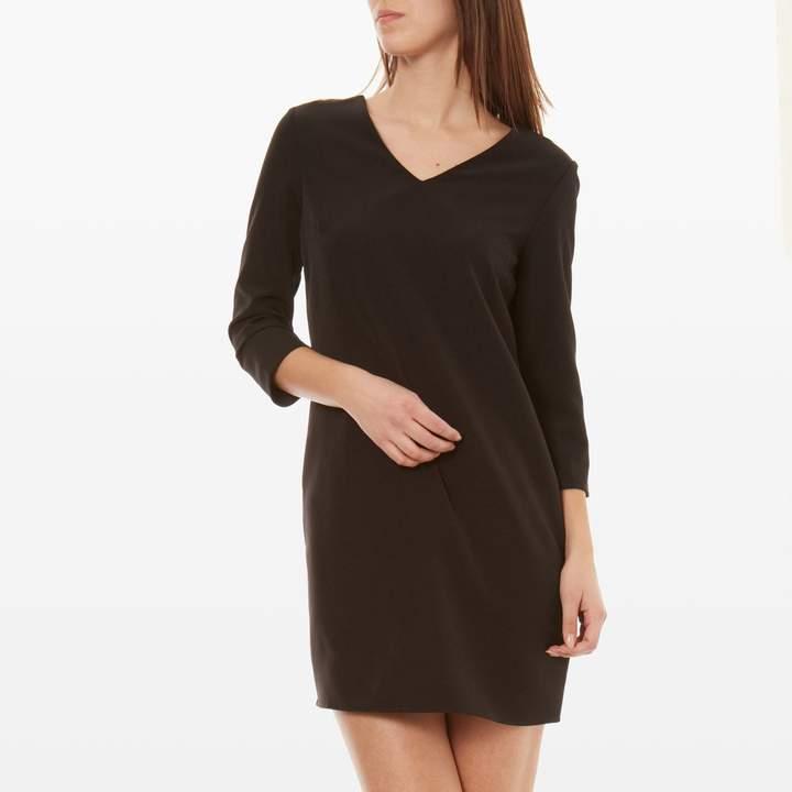 Kurzes Kleid - schwarz