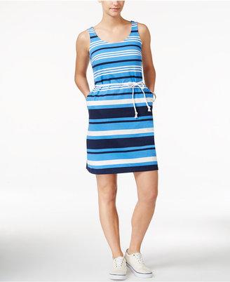 Tommy Hilfiger Dora Striped Jersey Tank Dress $79.50 thestylecure.com