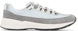 A.P.C. Jay Reflective Low Top Trainers - Mens - Silver
