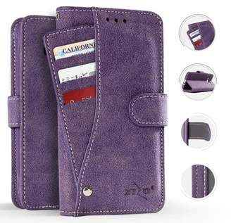 Coolpad Defiant Case, Zizo Slide Out Wallet Pouch - Thin Lightweight Wallet Case w/ Credit Card and ID Holder - Heavy Duty