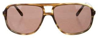 Givenchy Marbled Aviator Sunglasses