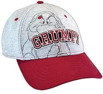 Disney Men's Hat Grumpy Baseball Cap Grumpier (Grey)