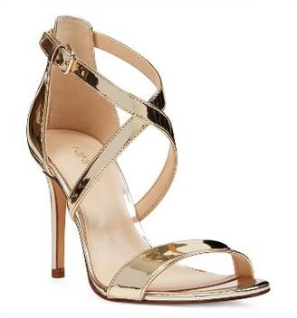 Women's Nine West Mydebut Cross Strap Sandal $88.95 thestylecure.com