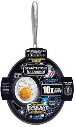 "GraniteStone Diamond 11"" Titanium Nonstick Coating Mineral Infused Fry Pan"