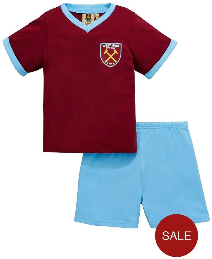 Shorty Football Pyjamas Set