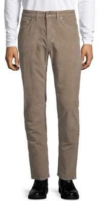 Black & Brown Black Brown Uncut Corduroy Five-Pocket Pants
