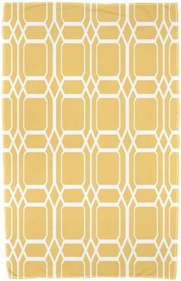 "Simply Daisy 30"" x 60"" O the Fun Geometric Print Beach Towel"