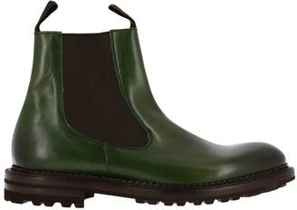 GREEN GEORGE Boots Shoes Men Green George