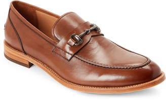 Warfield & Grand Cognac Rhodes Apron Toe Loafers