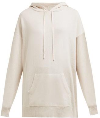 Nili Lotan Selma Cashmere Hooded Sweatshirt - Womens - Ivory