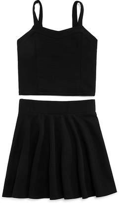 Sally Miller Girls' Willow Textured Top & Skirt Set - Big Kid
