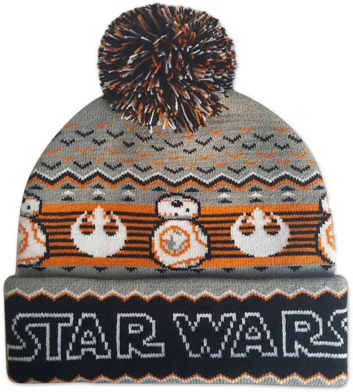 Star WarsTM BB8 Ugly Sweater Pom Beanie