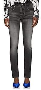 Balenciaga Women's Archetype Colorblocked Skinny Jeans-Gray