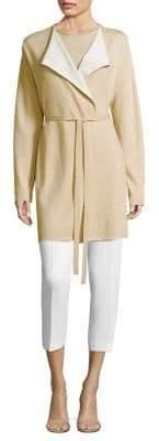 Agnona Long Colorblock Cashmere Cardigan