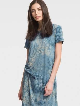 DKNY Tie-Dye Jersey T-Shirt Dress