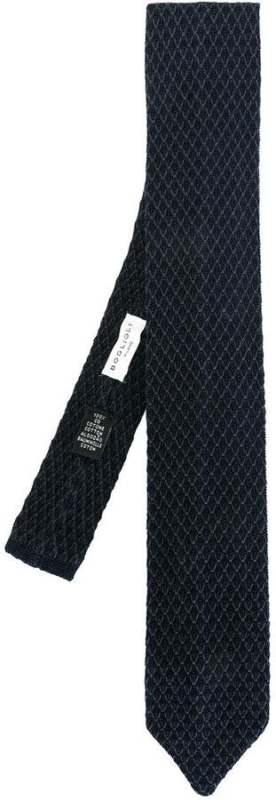 BoglioliBoglioli textured tie