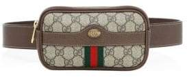 Gucci Logo Belted Canvas Phone Case