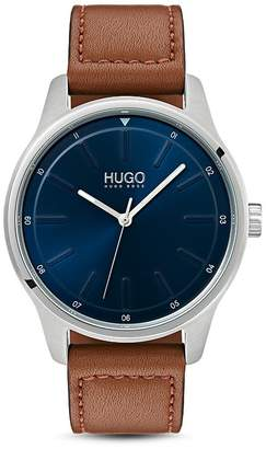 HUGO #CREATE Gray & Blue Watch, 42mm