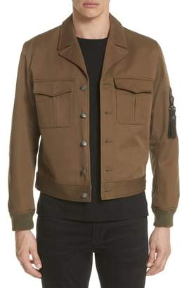 The Kooples Military Bomber Jacket