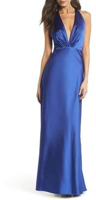 Maria Bianca Nero Rosie Satin Gown