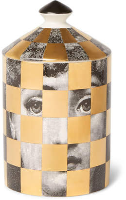 Fornasetti Scacco Scented Candle, 300g - Colorless