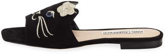 Karl Lagerfeld Paris Roz Cat Face Sandals