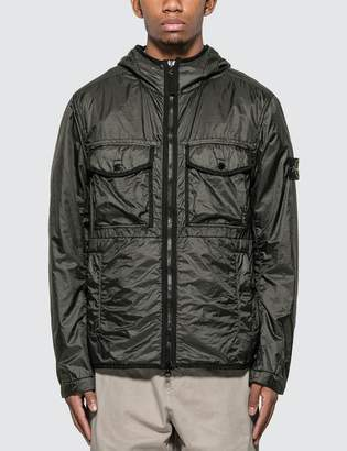 Stone Island Light Zip Jacket With Visible Pockets