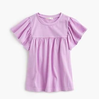 J.Crew Girls' bell-sleeved T-shirt