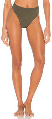LnA Sorrento High Waist Bikini Bottom