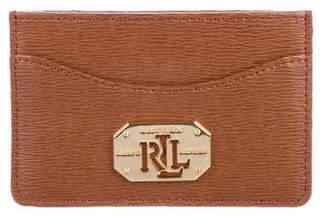 Lauren Ralph Lauren Leather Card Holder