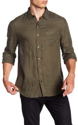 Vince Linen Natural Fit Shirt
