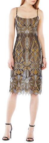 BCBGMAXAZRIABcbgmaxazria Geometrical Lace Dress