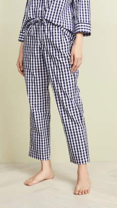 c3507f0a4b Sleepy Jones Gingham Marina Pajama Pants