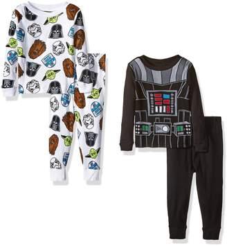 Star Wars Boys' Toddler 4-Piece Pajama Set