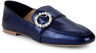 Ava & Aiden Aspen Embellished Buckle Loafers