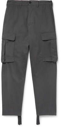 Acne Studios Pat Cotton-twill Cargo Trousers - Gray