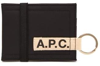 A.P.C. Lucky Cardholder - Mens - Black