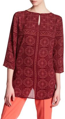 Chaus Enchanted Tile Blouse $69 thestylecure.com