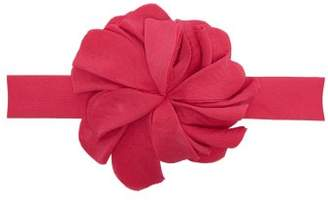 Adriana Degreas - Le Fleur Flower Embellished Crepe Belt - Womens - Pink