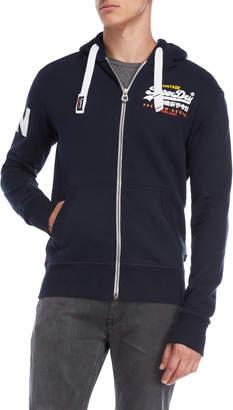 Superdry Zip-Up Fleece Hoodie