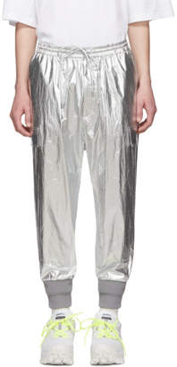 Juun.J Silver Tapered Lounge Pants