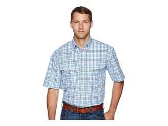 Roper 1675 Blue Spring Plaid Men's Clothing