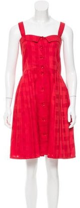 Marc by Marc Jacobs Sleeveless Button-Up Dress w/ Tags $75 thestylecure.com