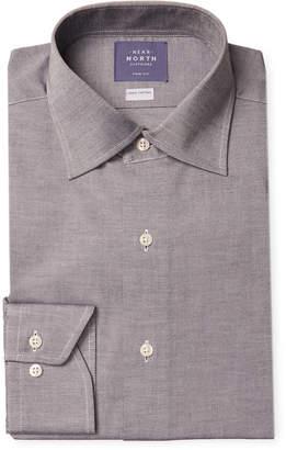 Near North Solid Flannel Dress Shirt
