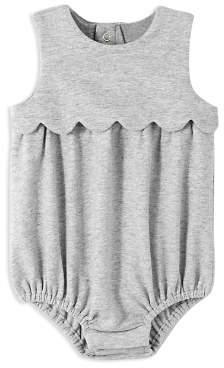 Jacadi Girls' Scalloped Bodysuit - Baby