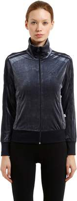 adidas Firebird Plush Velvet Track Jacket