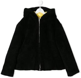 Marni TEEN zipped hooded jacket